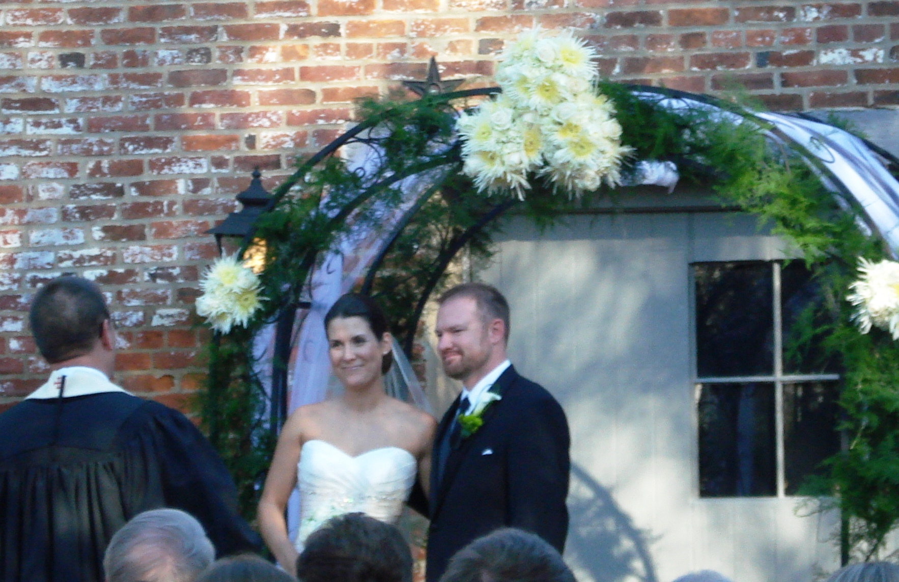Thomas Birkby House wedding ceremony