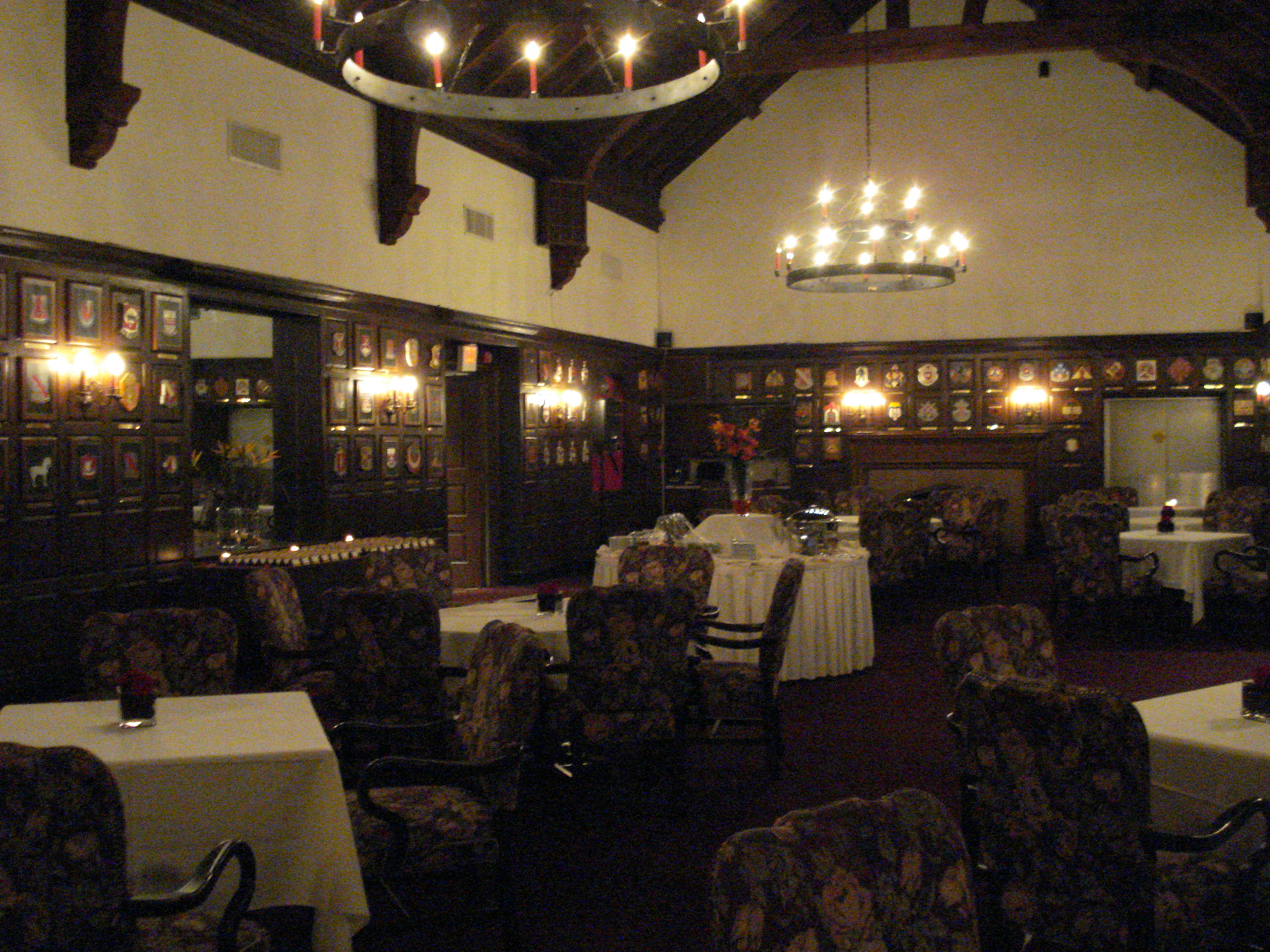 Castle Room at Ft. Belvoir Officers Club