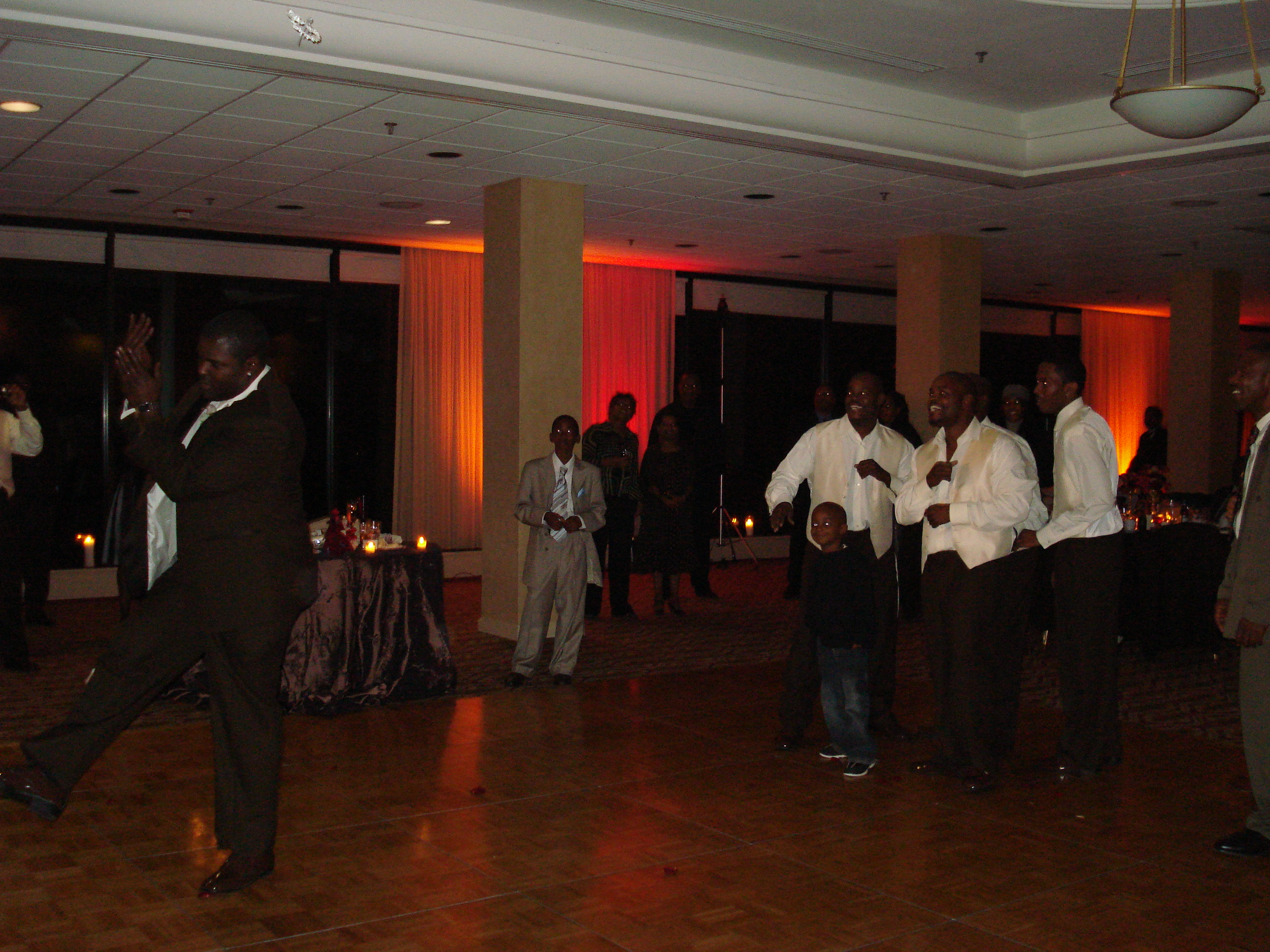 LaShawn and Harold's reception Ft. Belvoir Officers Club