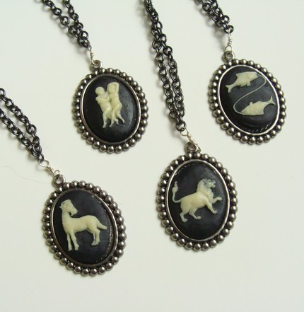 June Shin zodiac necklace