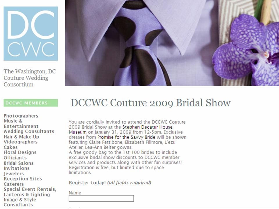 DCCWC Couture Bridal Show