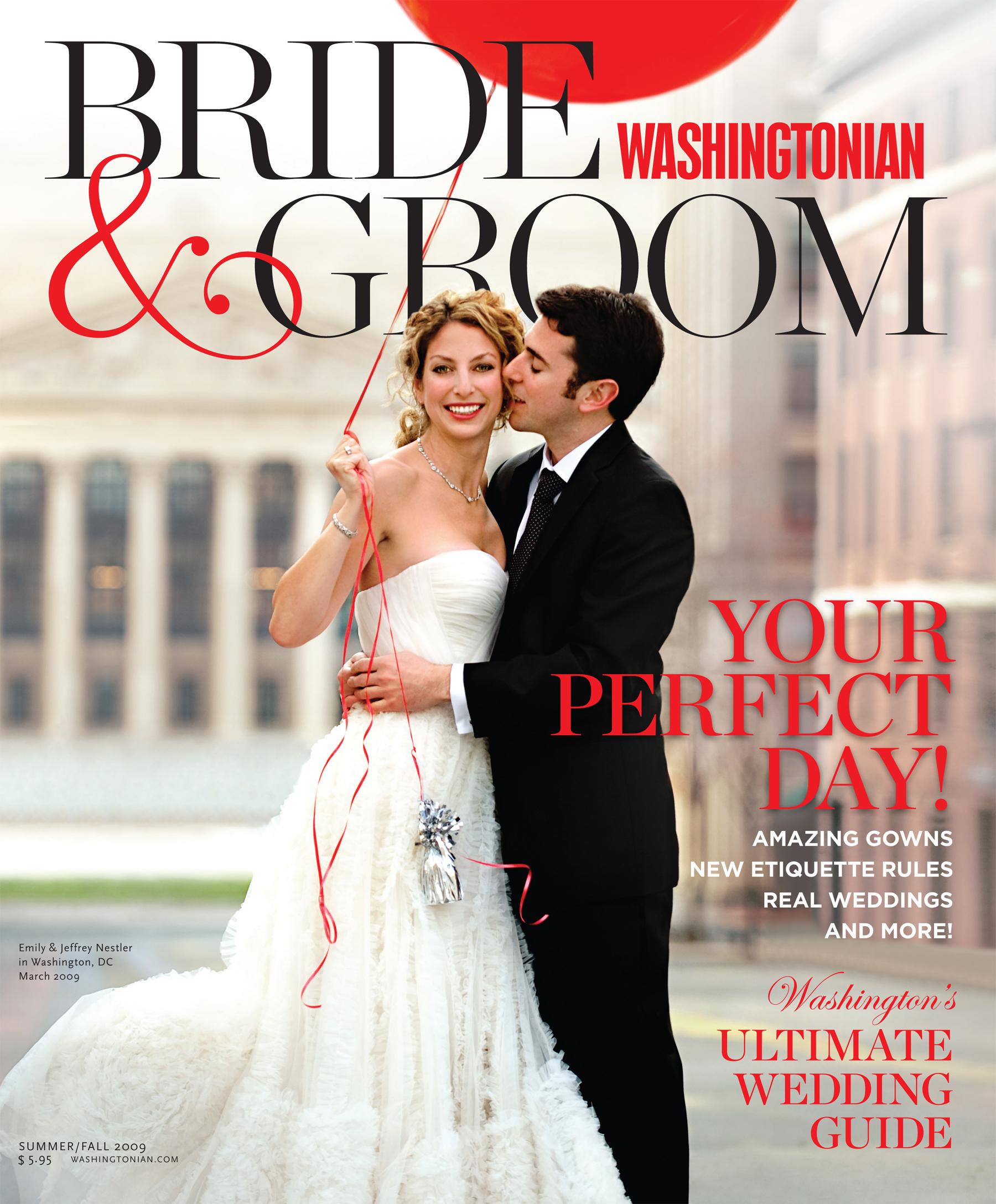 Event Accomplished in Washingtonian Bride and Groom magazine
