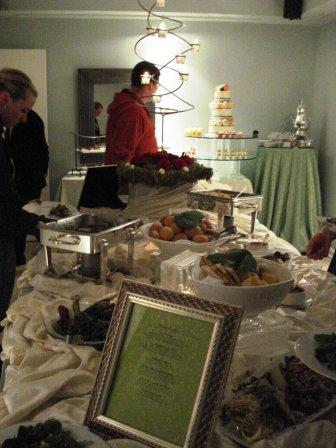 Dinner Buffet by RSVP Catering