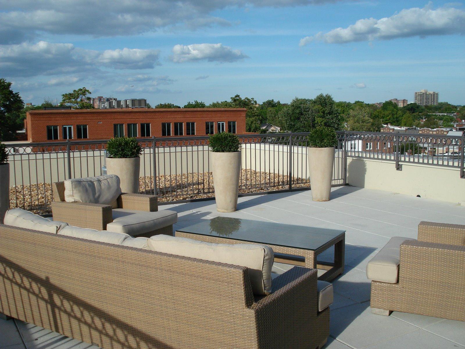 Lorien Hotel Alexandria presidential suite rooftop veranda