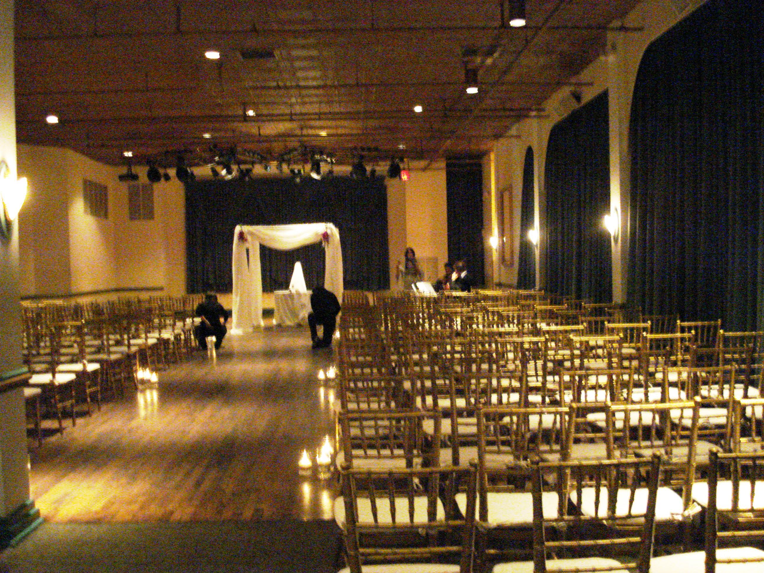clarendon ballroom jewish wedding ceremony