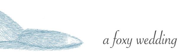 a foxy wedding blog