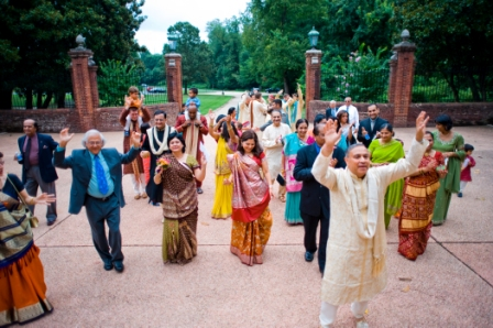 Oxon Hill Manor indian wedding baraat