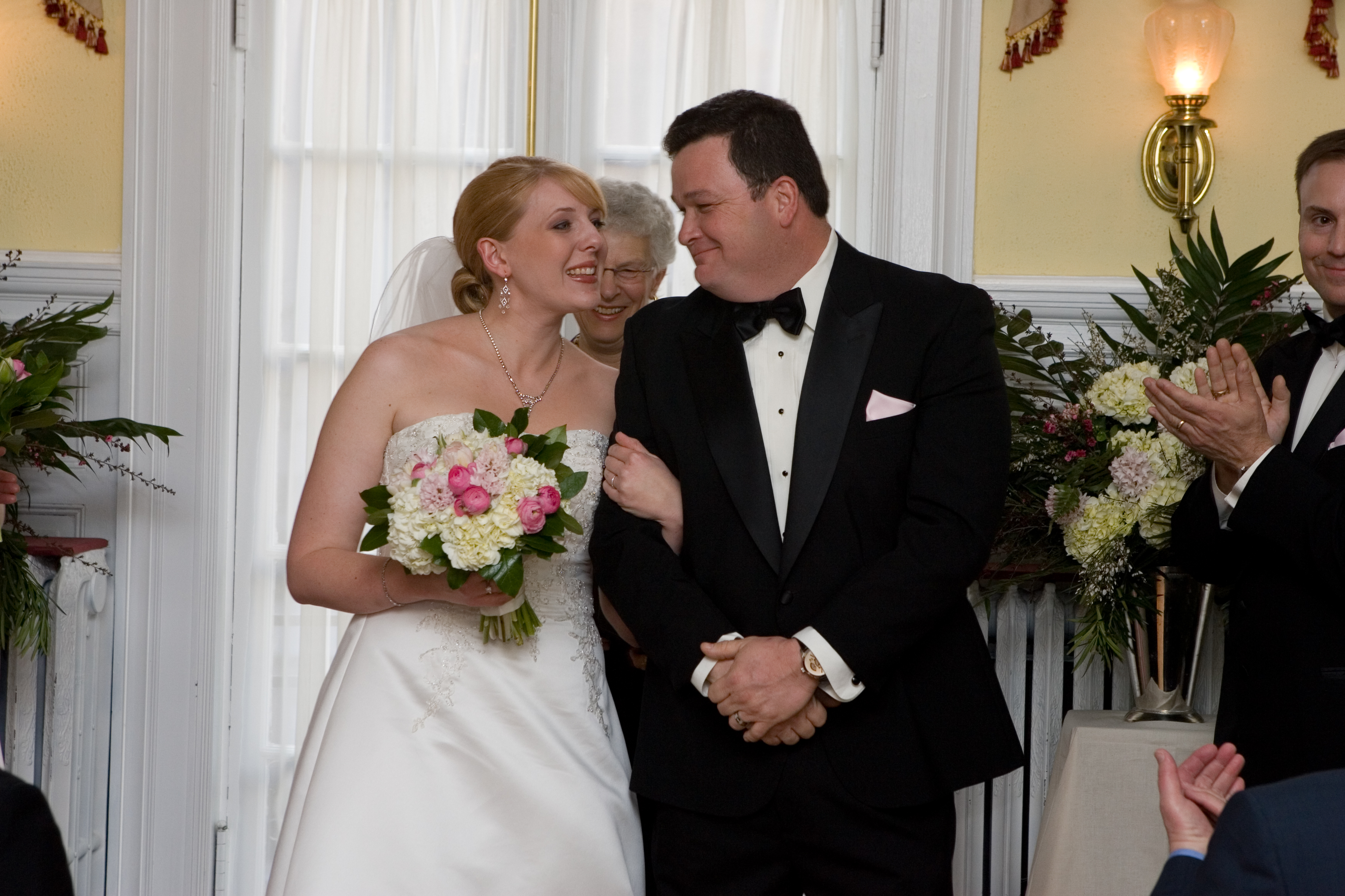 American news womens club dc wedding ceremony