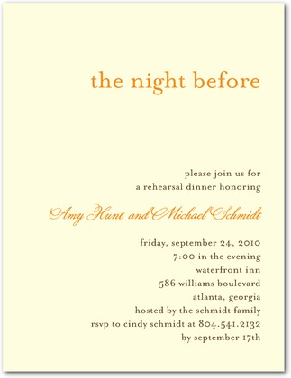 rehearsal dinner invitation weddingpaperdivas