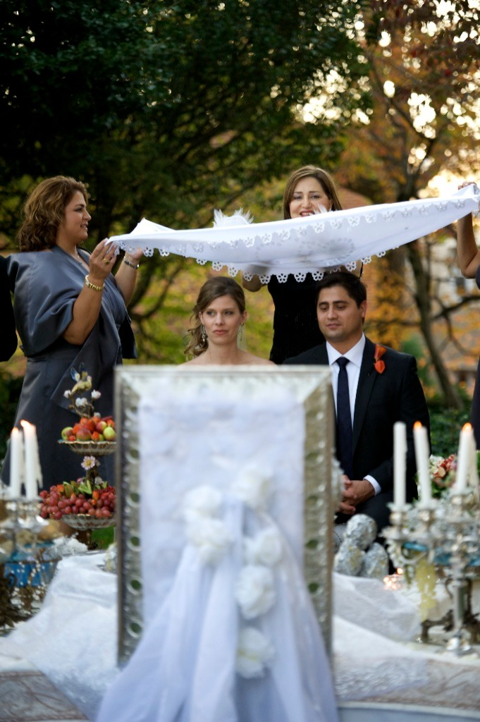 persian ceremony washington DC wedding meridian house