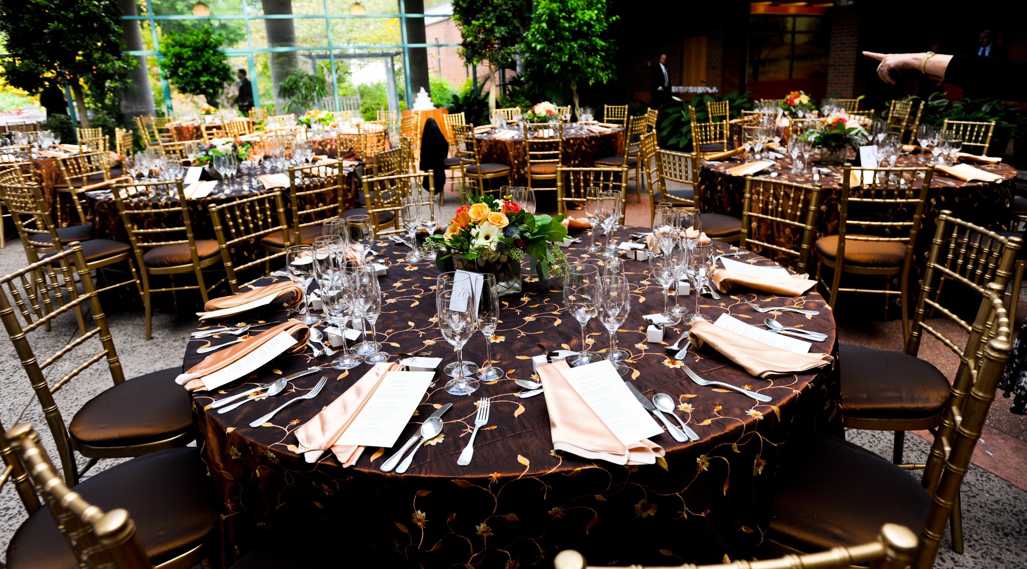 Meadowlark Botanical Gardens fall Virginia DC wedding Windows Catering