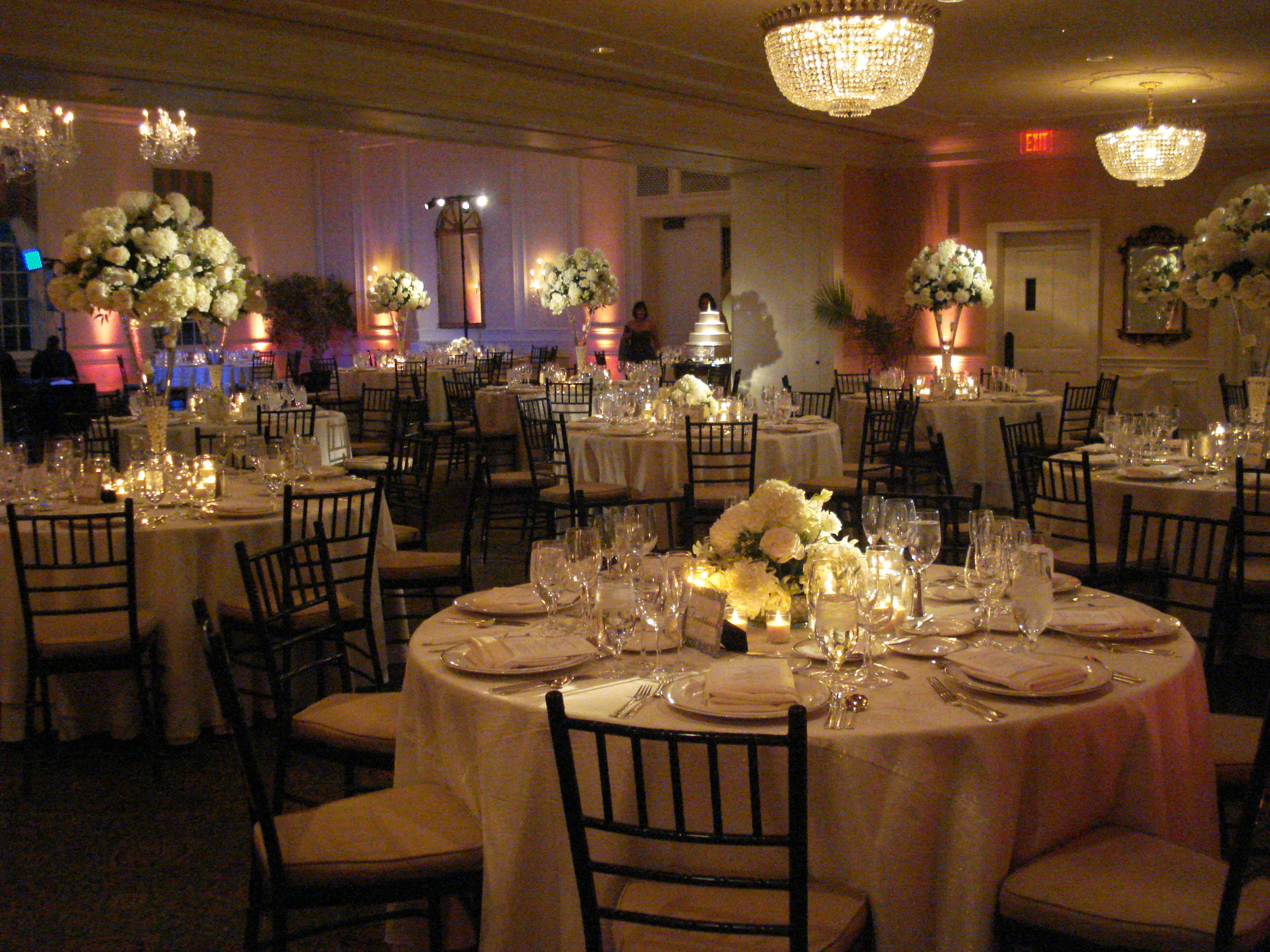 Washington Golf Country Club wedding reception