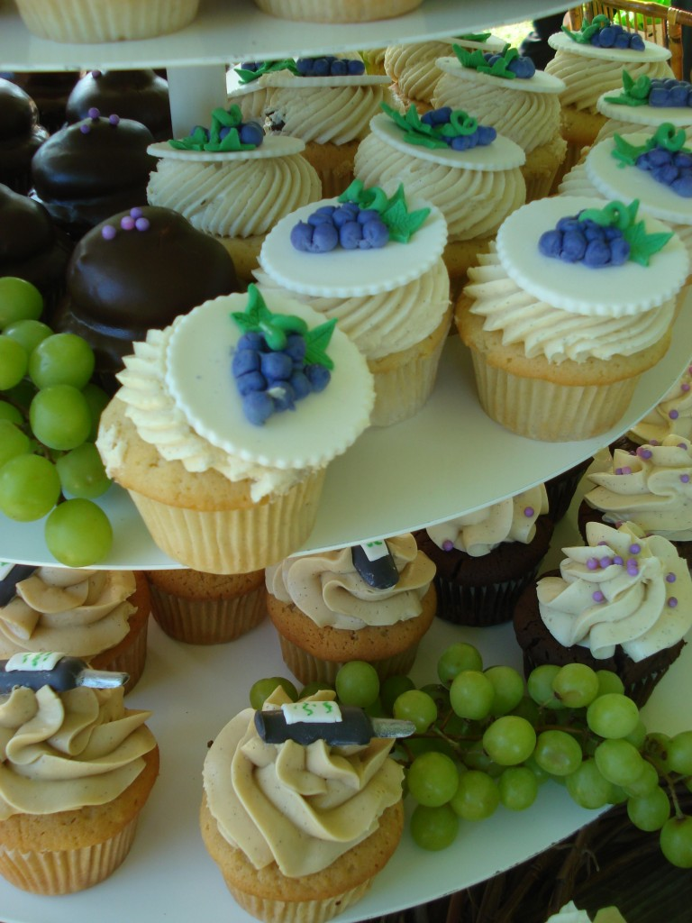 winery wedding cupcakes actually fairfax