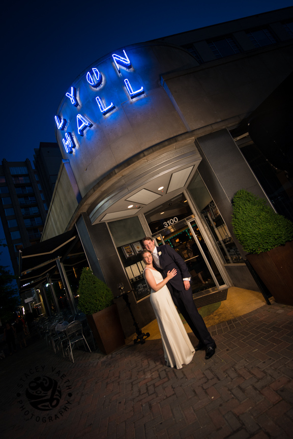 Lyon Hall arlington VA restaurant wedding