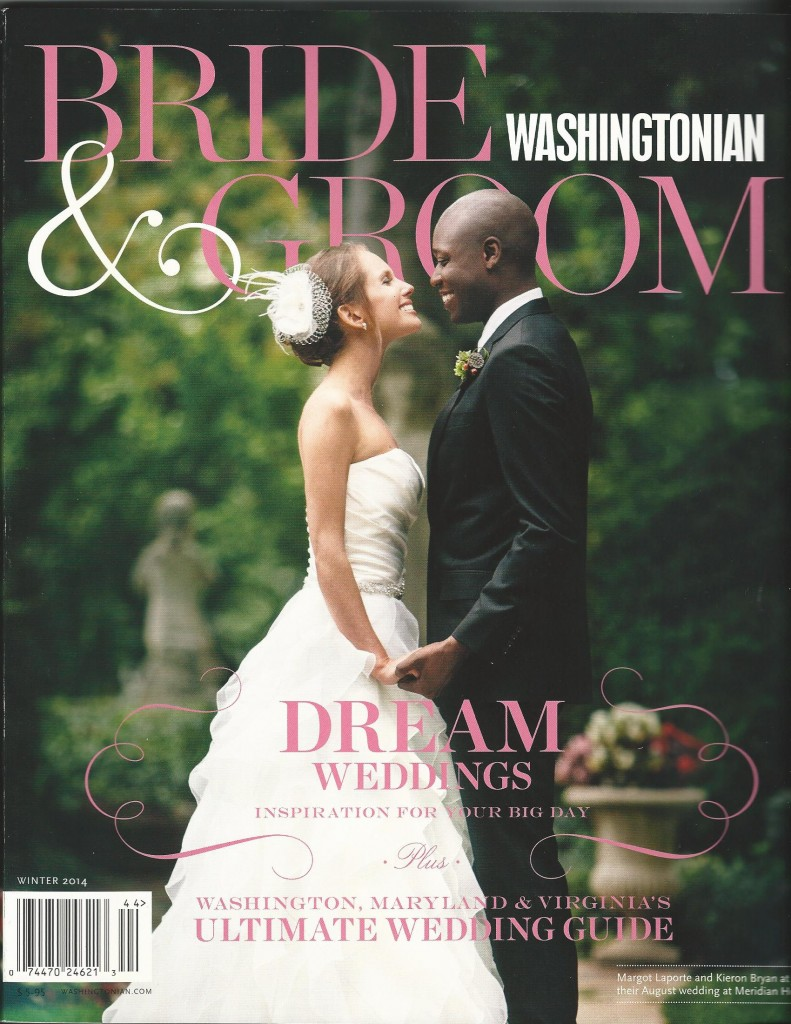 Washingtonian Bride and Groom 2014 cover