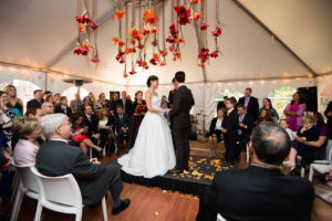 volt-restaurant-frederick-MD-wedding-ceremony