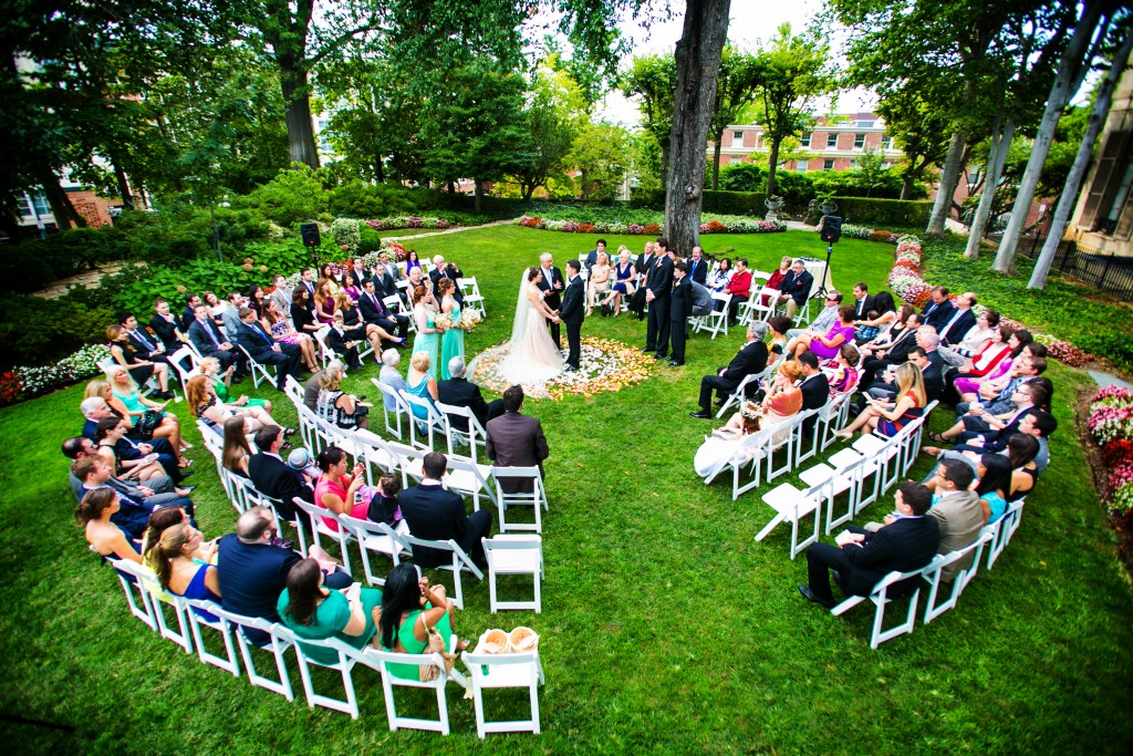 Meridian-House-wedding-ceremony-in-the-round-garden-Washington-DC