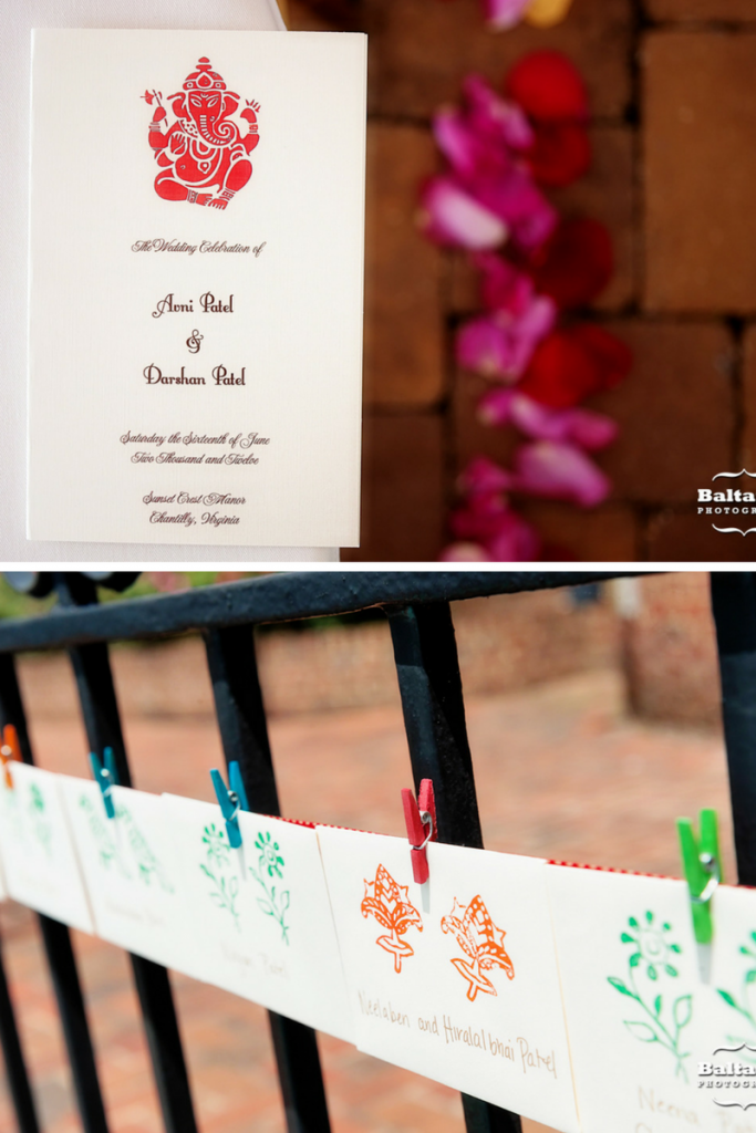 indian-wedding-ceremony-program-escort-cards