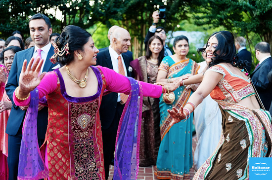 indian-wedding-sunset-crest-manor-VA-dancing