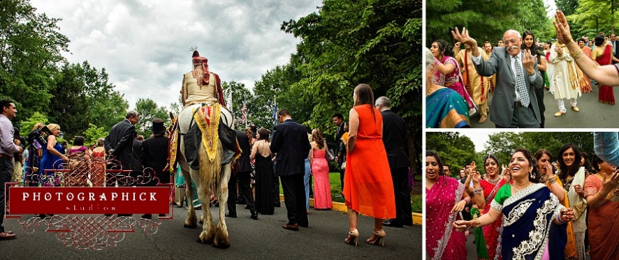 westfields marriott baraat indian wedding