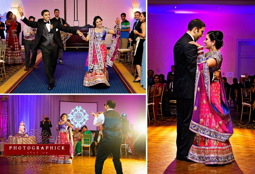 westfields marriott indian wedding fuchsia purple