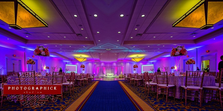 westfields marriott indian wedding purple fuchsia