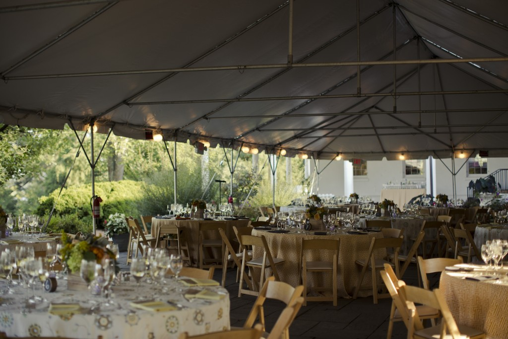 River Farm Alexandria VA Fall boho garden wedding tent