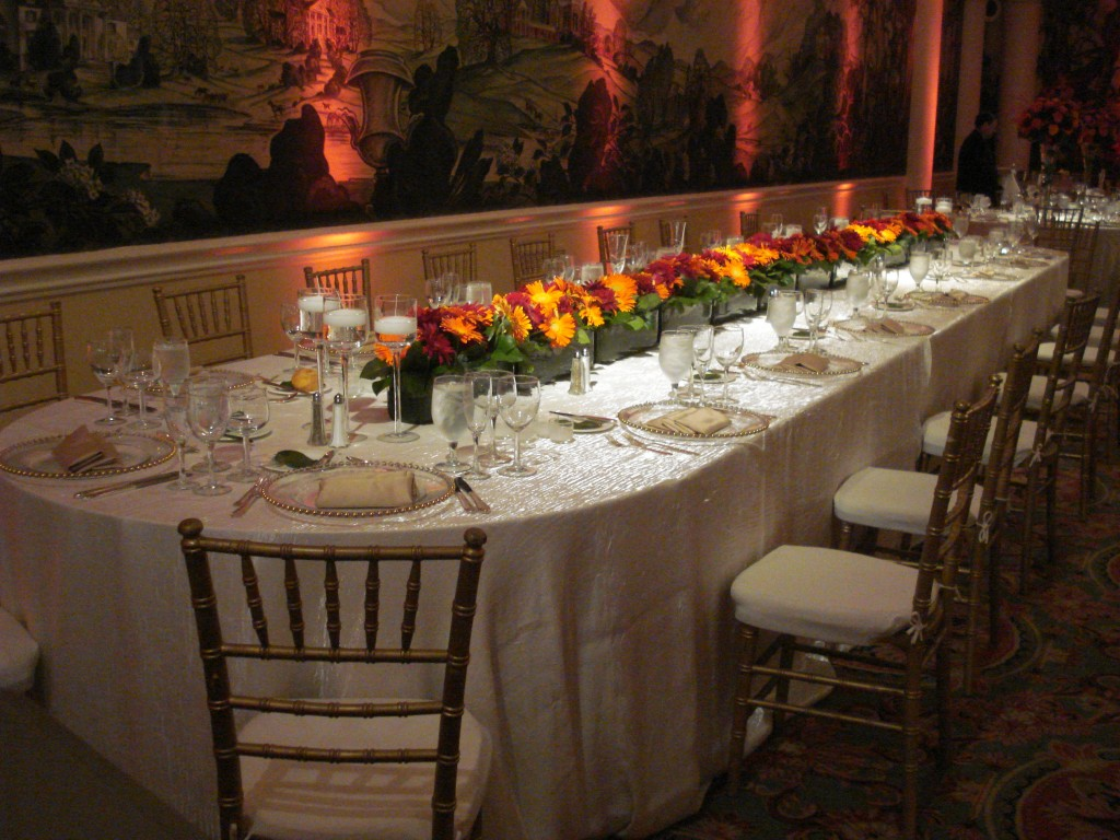 A Kings Table for the head table. Photo: Event Accomplished