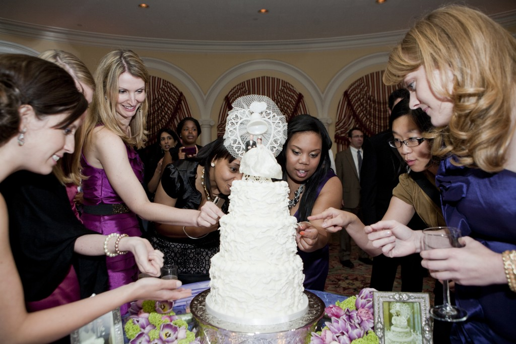 Argentinean cake tradition Omni Shoreham hotel wedding by Love Life Images