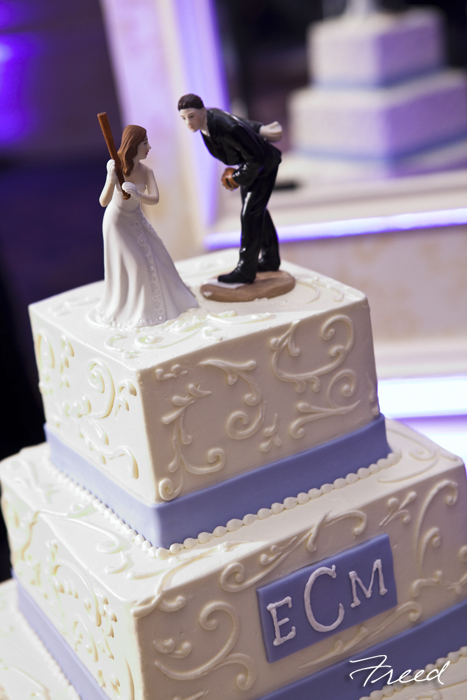 Fancy Cakes by Leslie baseball cake topper