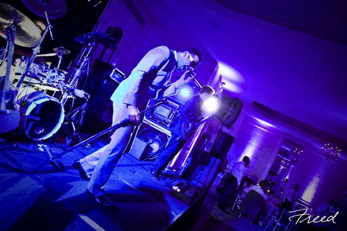 Six Stylez band wedding Omni Shoreham Hotel