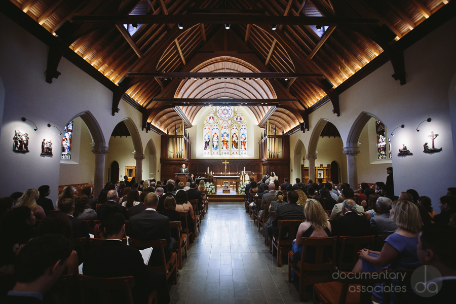 Dahlgren Chapel Georgetown University wedding ceremony