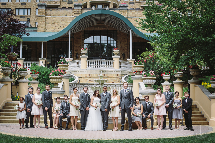 Omni Shoreham Hotel blush and grey wedding party large