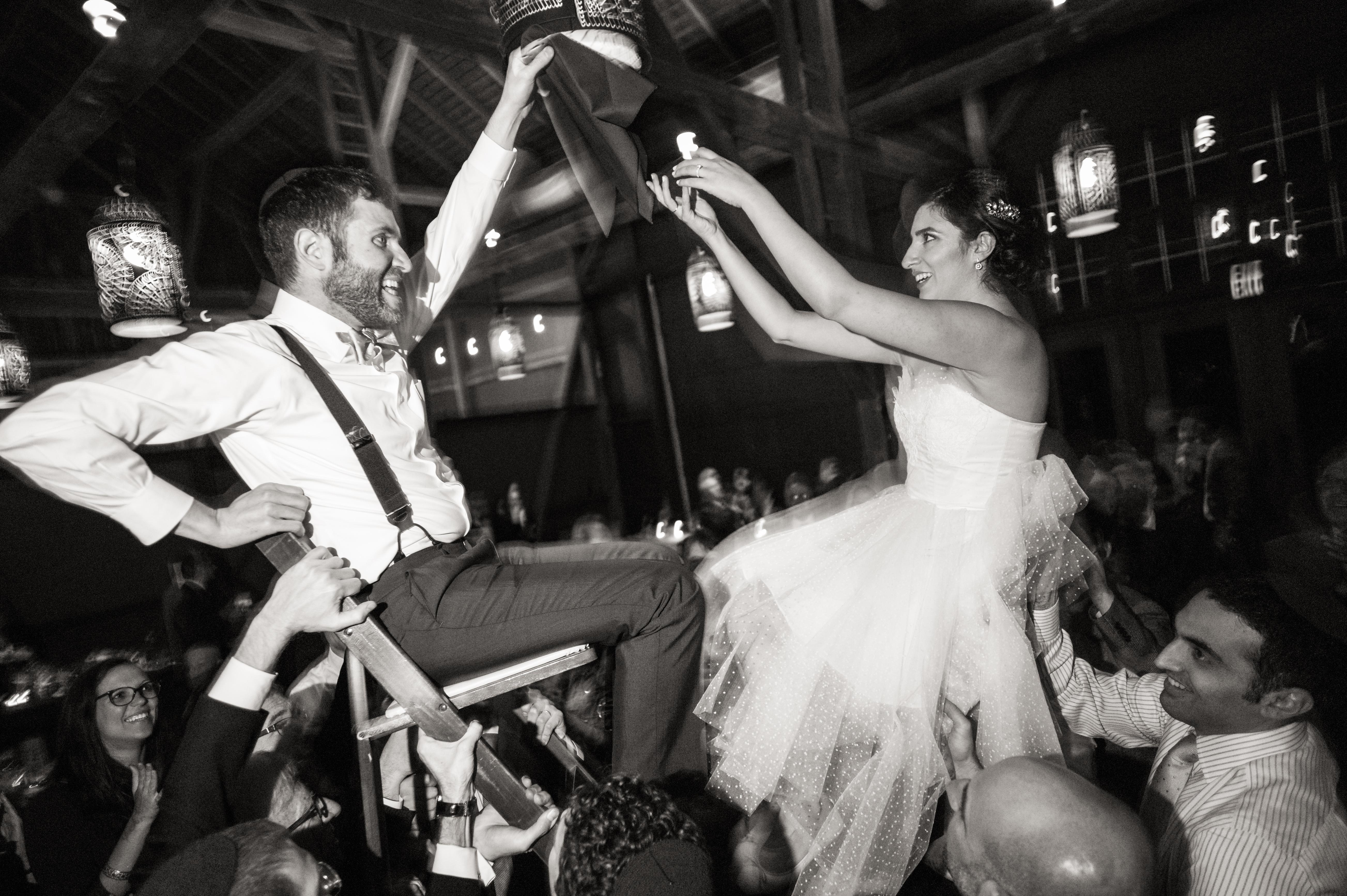 Photo Zoeica Images Jewish Wedding Photography Hora