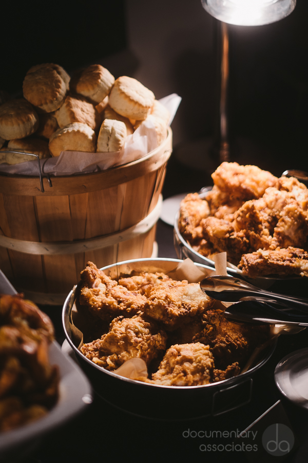 fried chicken wedding food station Omni Shoreham Hotel DC