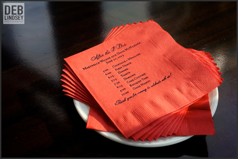 ForYourParty custom cocktail napkins timeline