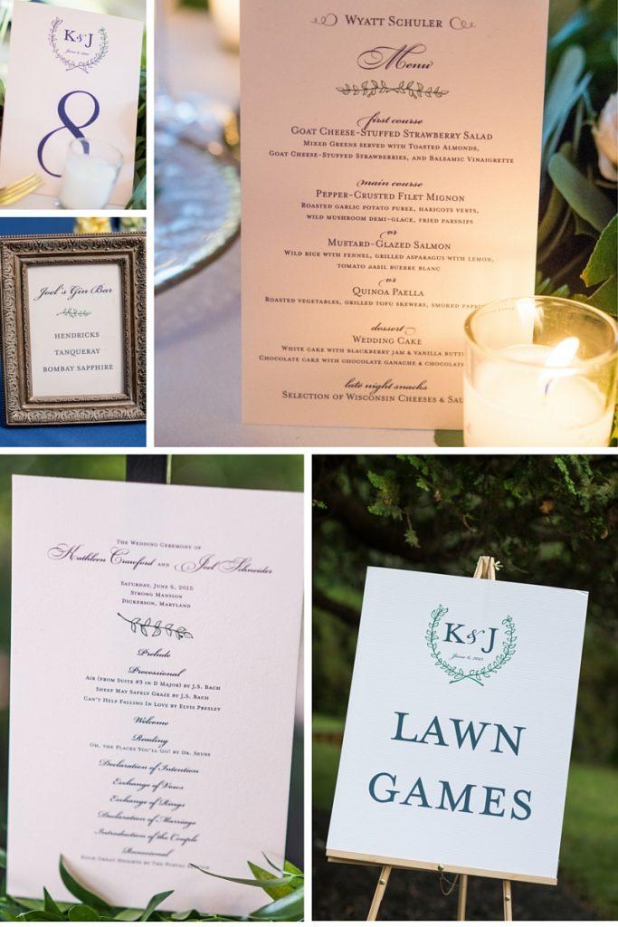 LBC Design wedding stationery