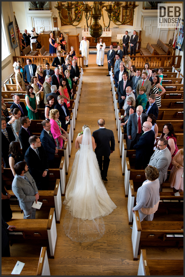 St Johns Episcopal Church mclean virginia wedding ceremony