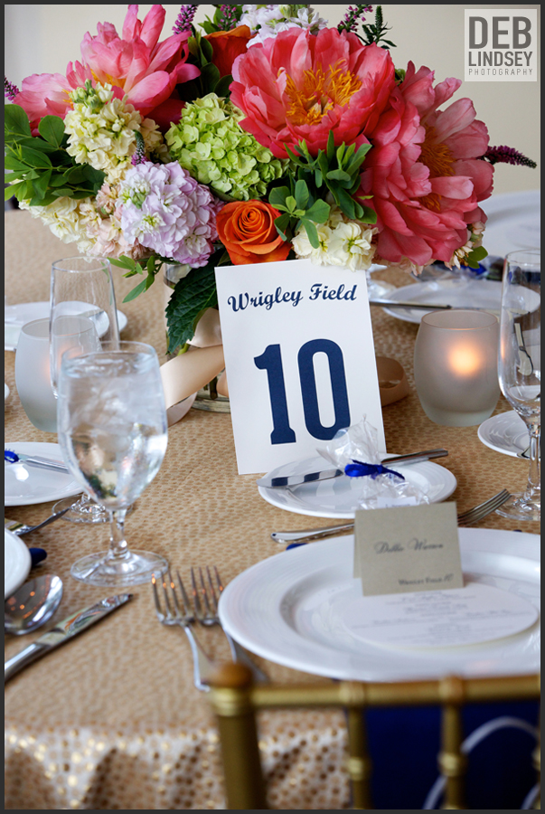 baseball inspired table numbers names