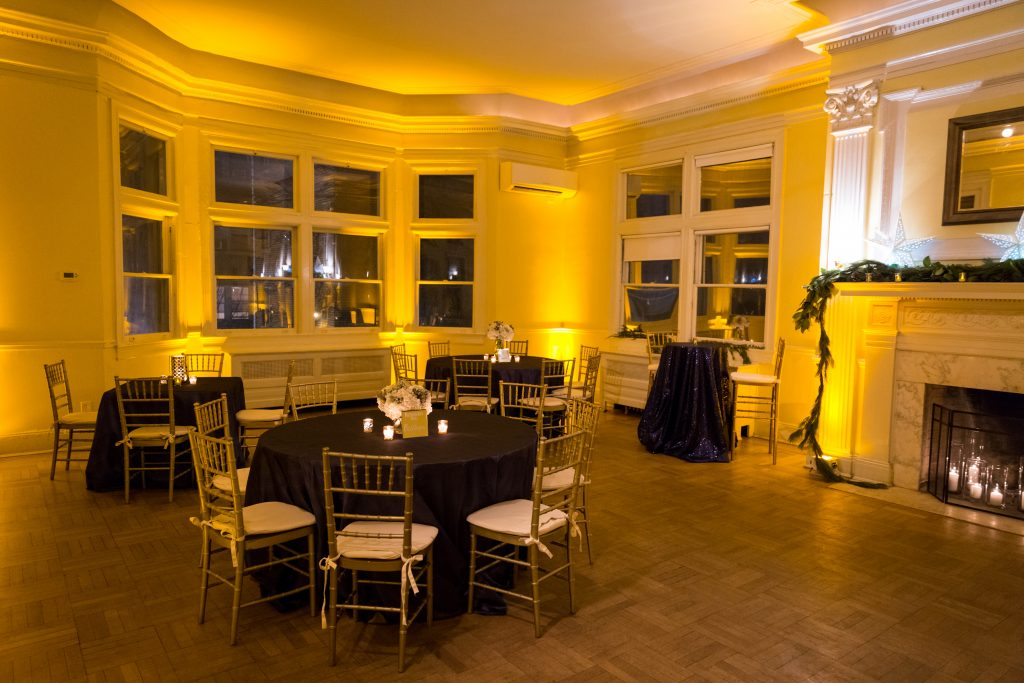 josephine butler park center cocktail style reception wedding