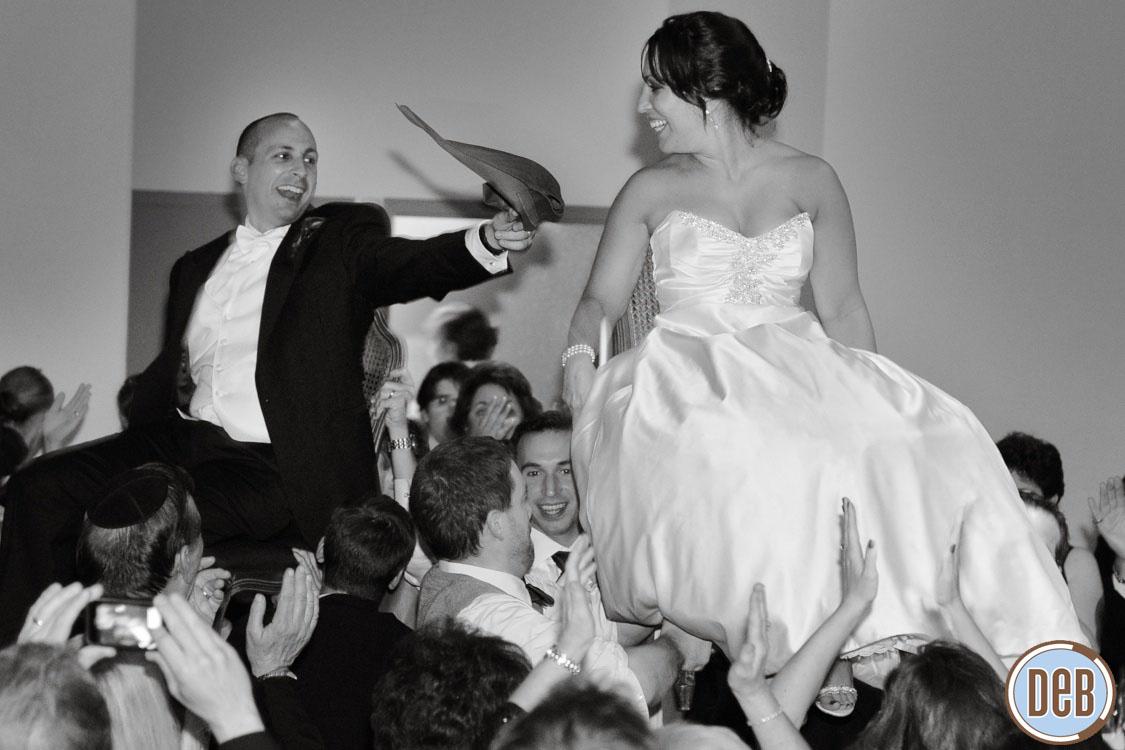 Clarendon Ballroom Arlington Va Wedding Jewish Hora Dance