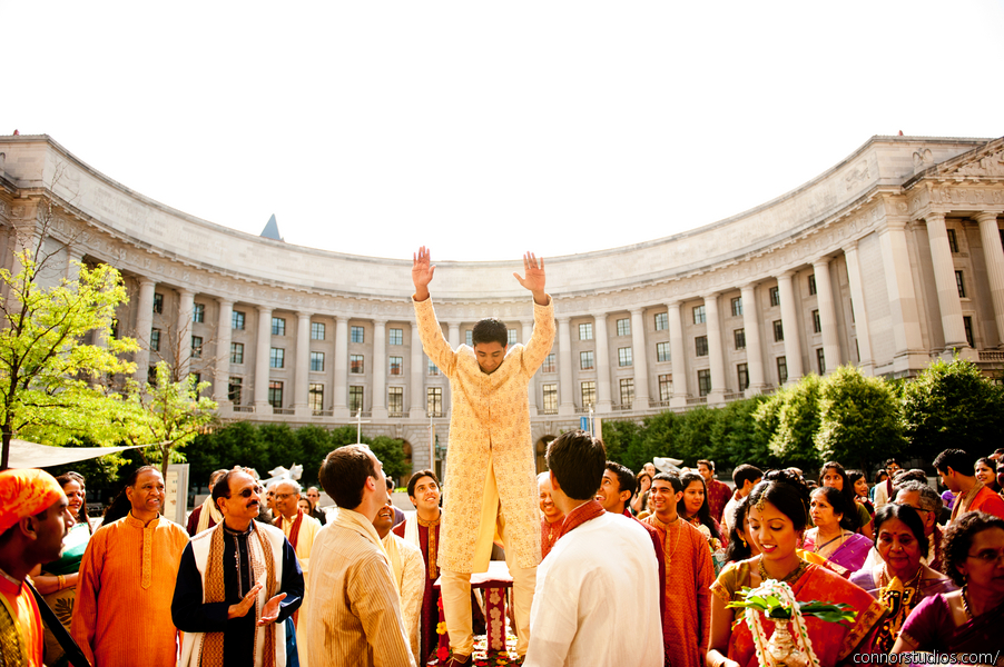 indian-wedding-baraat-washington-dc-ronald-reagan-building