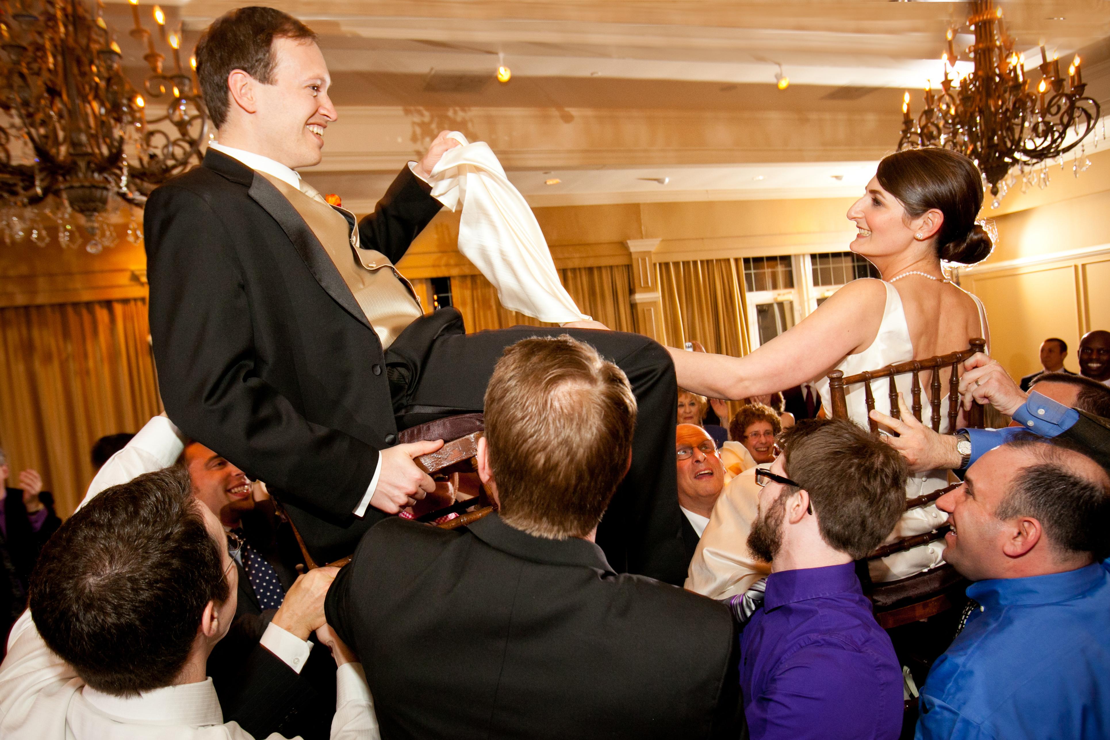Westwood Country Club Vienna Va Wedding Jewish Hora