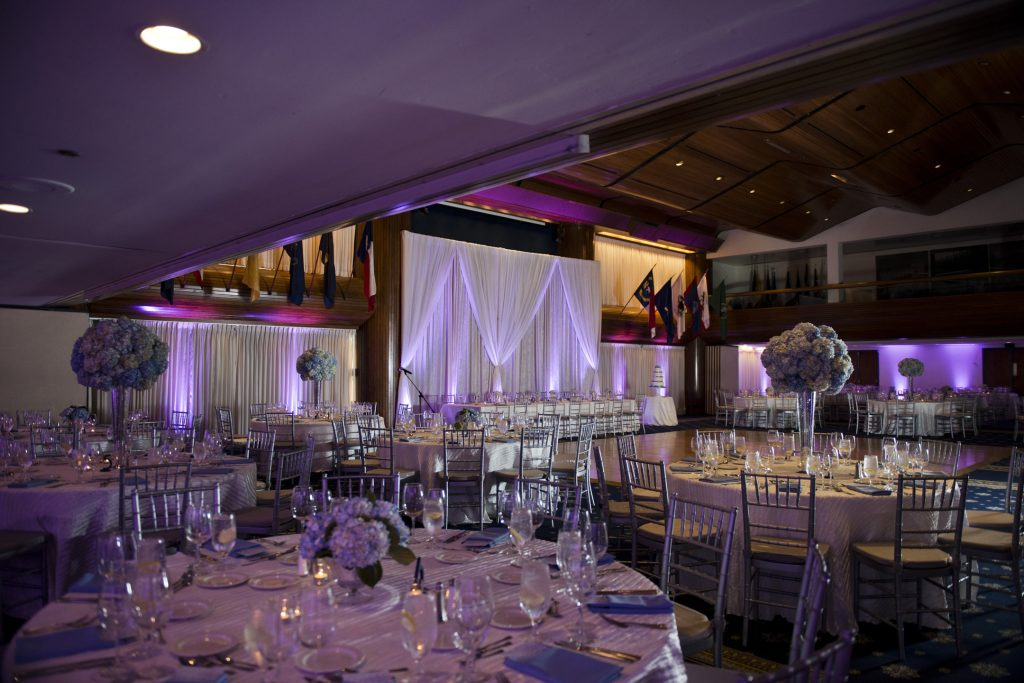 national-press-club-washington-dc-wedding-blue-silver-uplighting