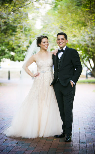 Bethany Stangl and Eric Leconte