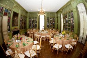 Meridian House Washington DC wedding gold