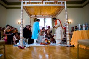 Oxon Hill Manor hindu lutheran wedding ceremony