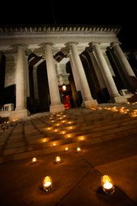 Yellow-Gray-Washington-DC-Vietnamese-Wedding-Reception-Carnegie-Institute of Science