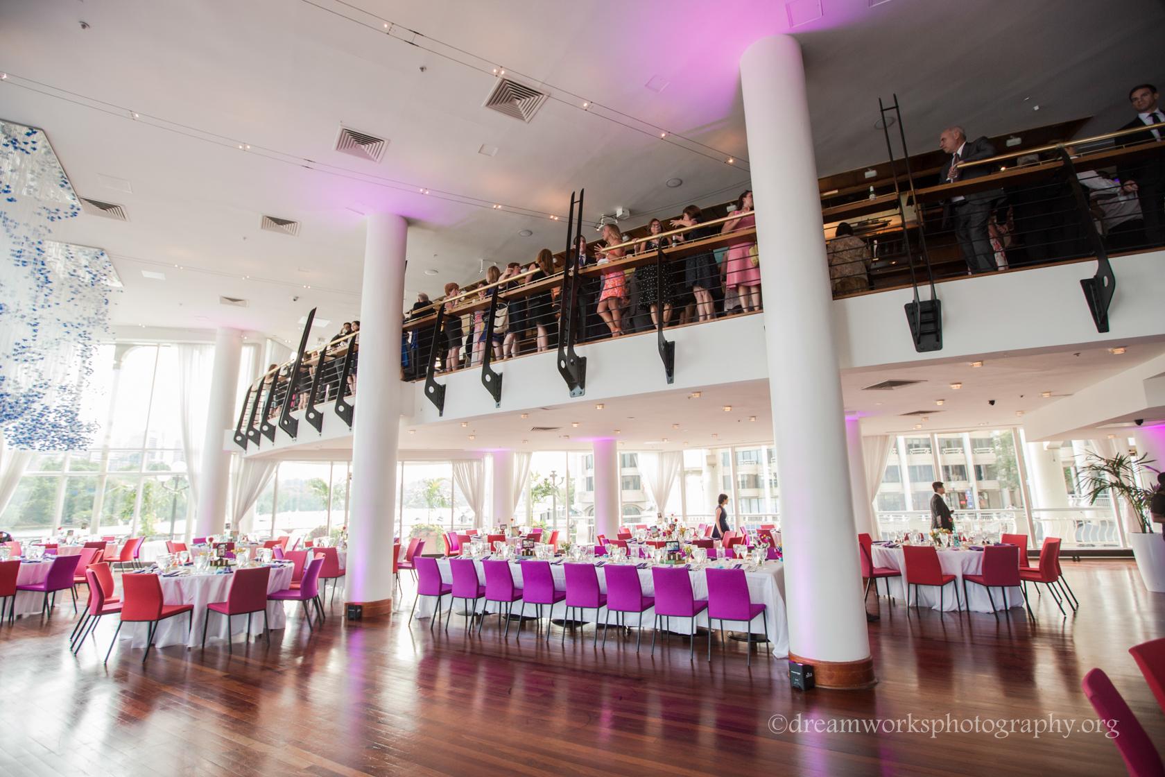 Sequoia Restaurant Georgetown Washington Dc Summer Wedding Reception