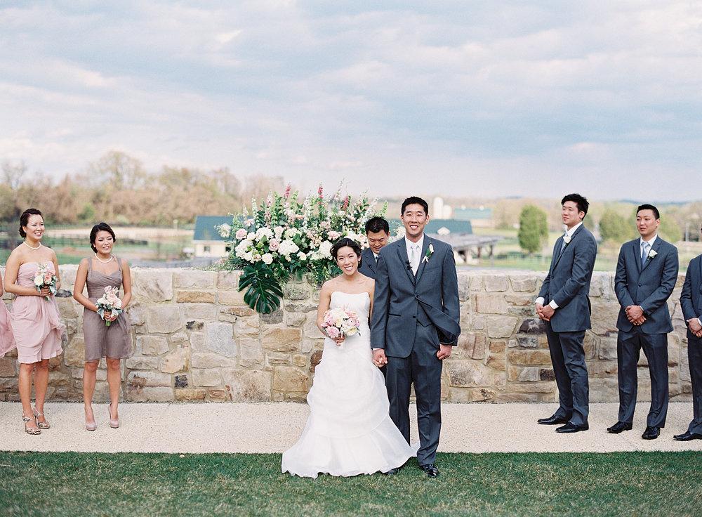 Middleburg Virginia Salamander Resort wedding ceremony